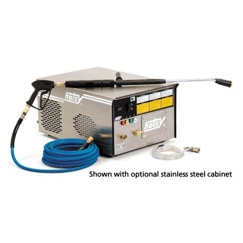 Hotsy 1700 Series isthe most reliable stationary, electric-powered, cold water pressure washer