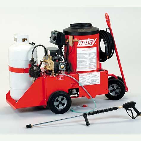 Hotsy 558 Industrial 110 volt LP fired