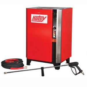 Hotsy'sCWC Series is an electric-powered, stationary, cold water pressure washer