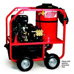 Hotsy's Gas Engine – Belt Drive Series - Portable Hot Water Washer