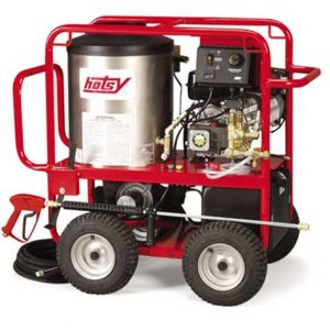 Hotsy Gas Engine -Direct Drive Series - Compact, Portable Hot Pressure Washer