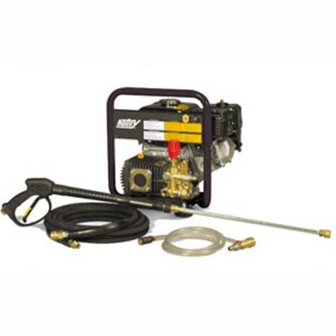 Hotsy HC Series -gas-powered, hand-held, cold water pressure washer