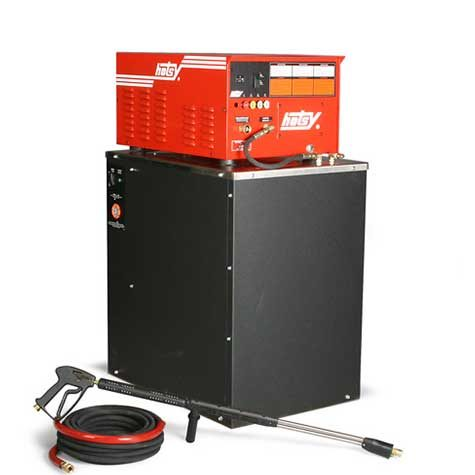 Hotsy HWE Series ideal for indoor use