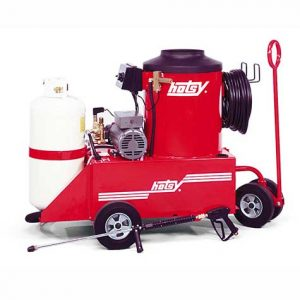 Hotsy Model 771 Propane Shown with Optional Portagear & Propane Tank