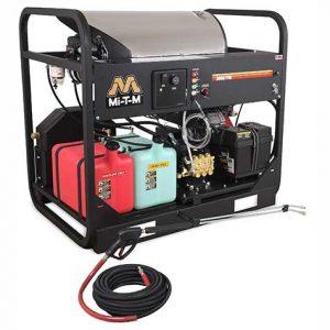 Skid Gasoline Belt Drive - HDC Series Pressure Washer