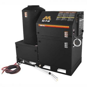 Hotsy HEG Series Power Washer for Wash Bay Setup
