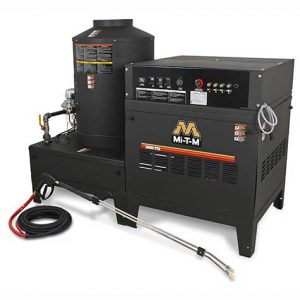 Stationary Natural Gas/LP Belt Drive Hot Water Pressure Washer