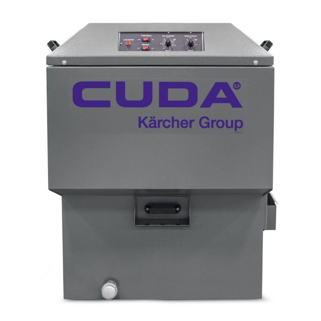 Cuda's 2412 series - entry-level top-load aqueous parts washer