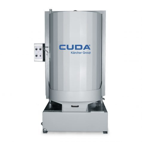 "Cuda's ""mid-size"" 3648 series front-load parts washer"