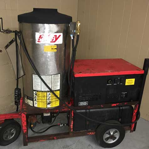 hotsy used 980ss pressure washer