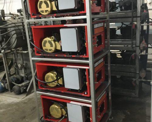 Hot water pressure washing system