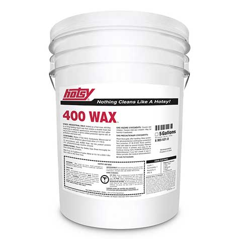 pressure washing wax