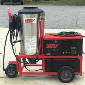 Used pressure washer hotsy