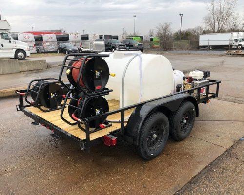 pressure washer trailer package